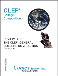 books this book contains all the information you need to prepare and do well on the clep college composition examination and out the essay